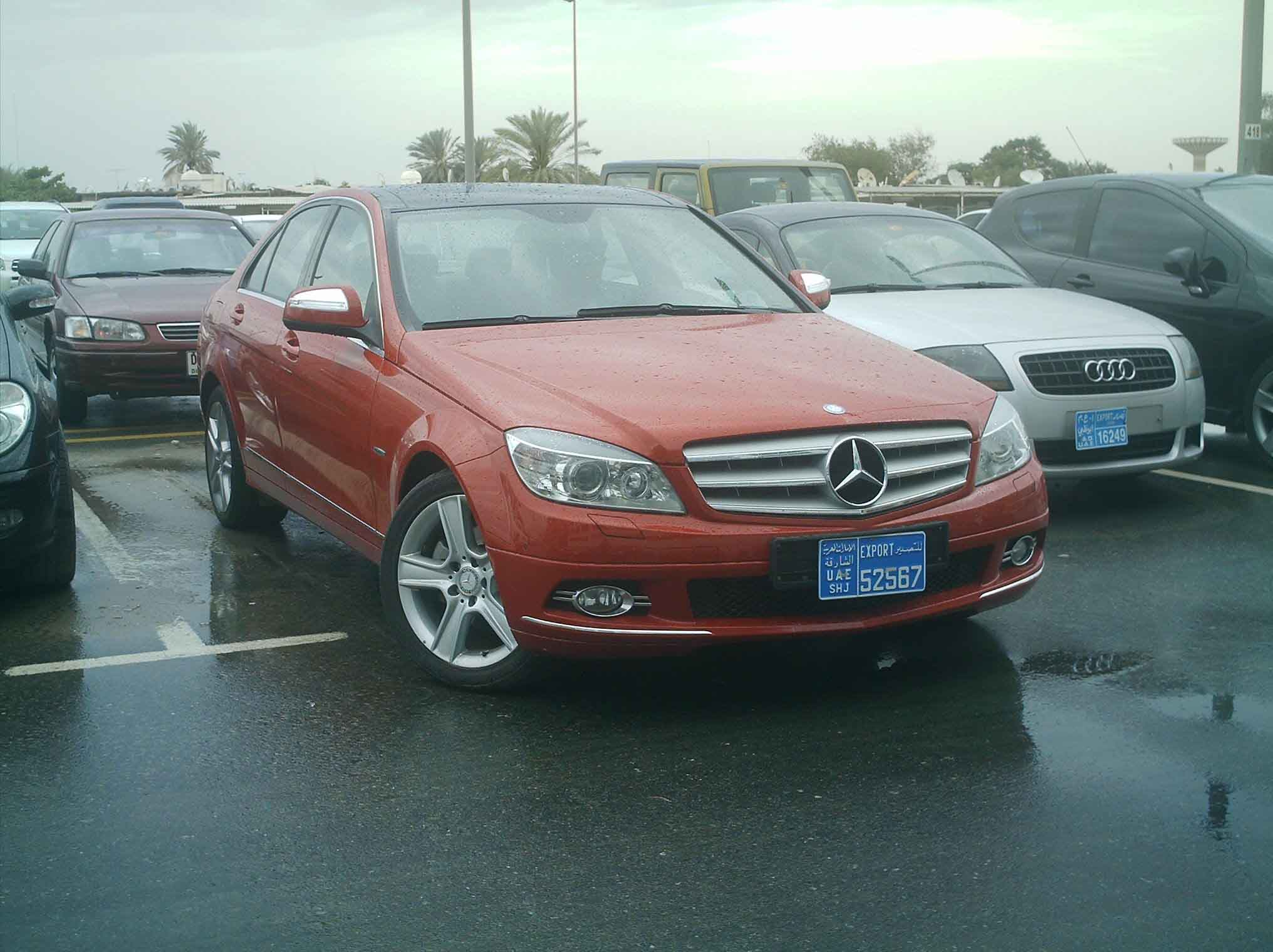 used mercedes benz c230 2008 for sale uae free