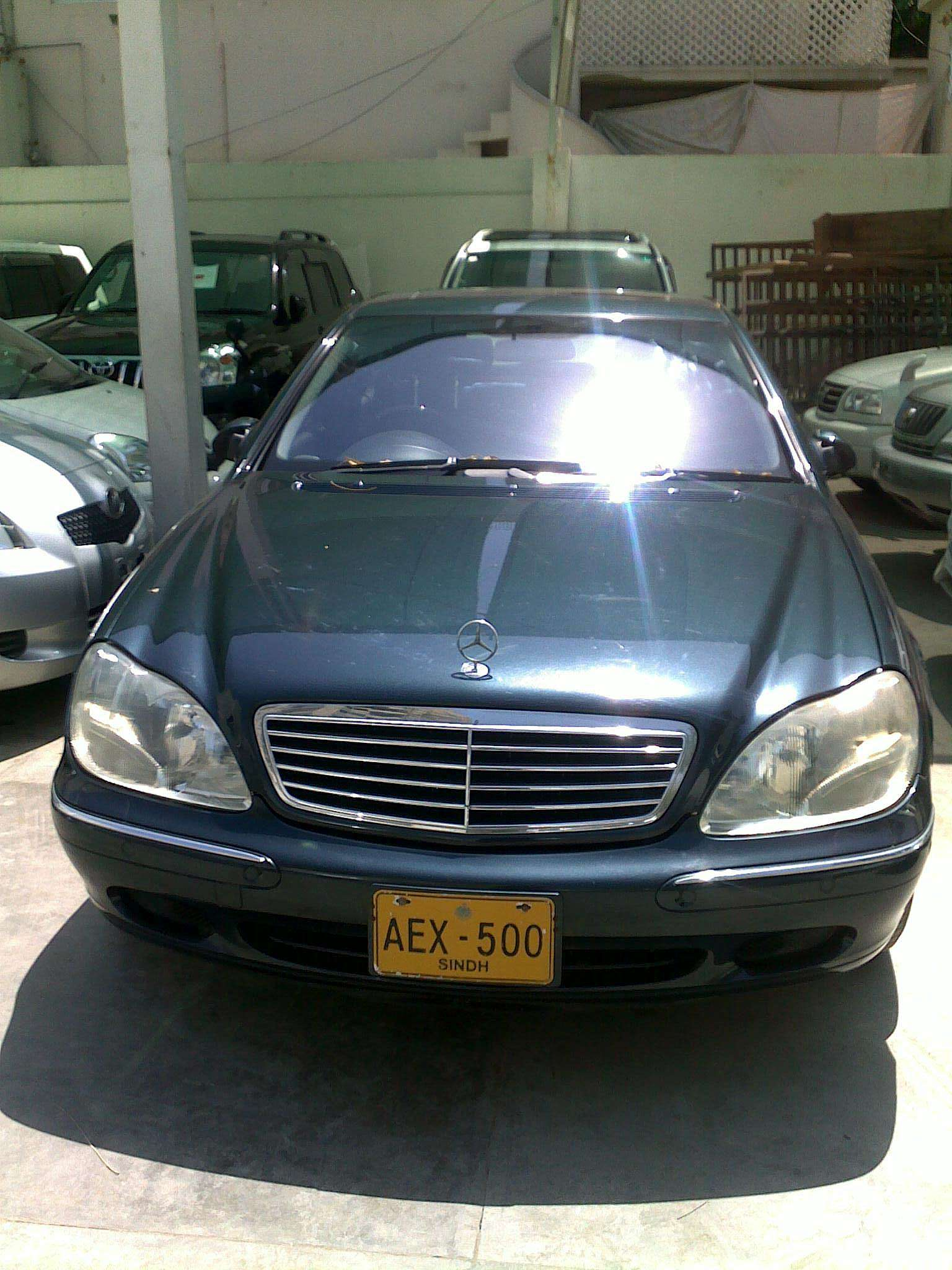 Used 2001 Mercedes Benz S Class For Sale Pakistan Free