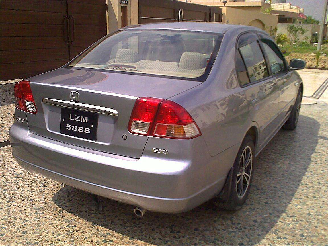 used 2005 honda civic exi for sale lahore pakistan free classifieds muamat. Black Bedroom Furniture Sets. Home Design Ideas