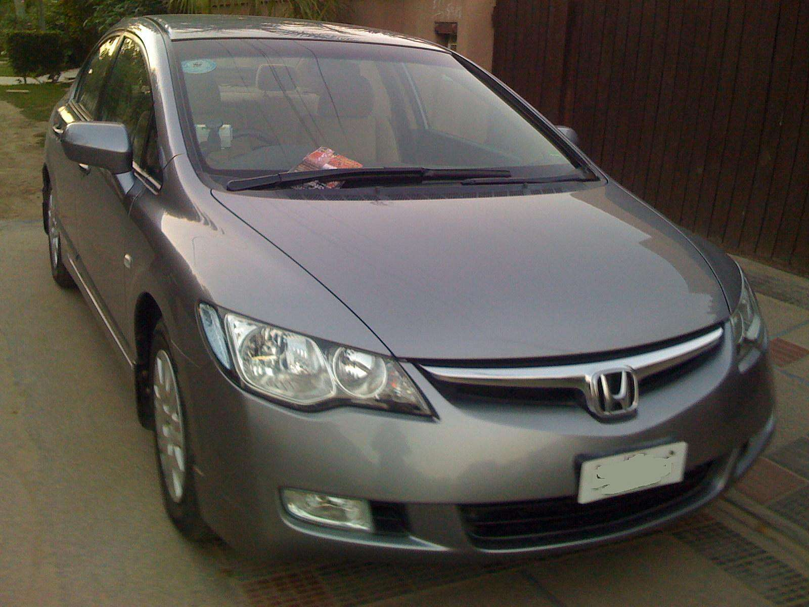 used 2007 honda civic for sale lahore pakistan free classifieds muamat. Black Bedroom Furniture Sets. Home Design Ideas