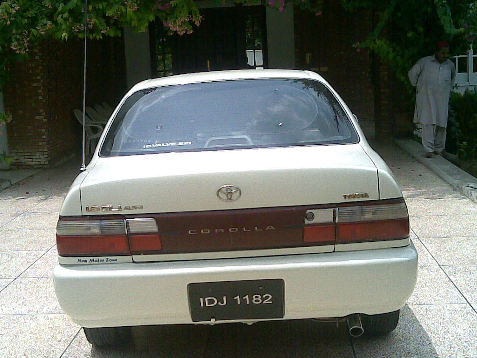 used 1998 toyota corolla for sale lahore pakistan free classifieds muamat. Black Bedroom Furniture Sets. Home Design Ideas