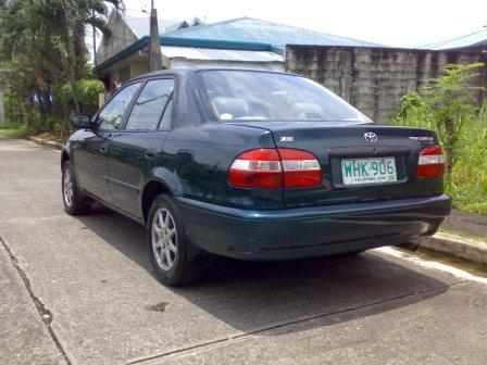 Email this ad report abuse 1999 toyota corolla xe for 1999 toyota corolla paint code location