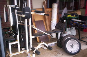 Body builder all in one complete workout home gym adelaide