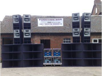 Funktion One Sound System 4 Sale Or Hire Manchester Uk