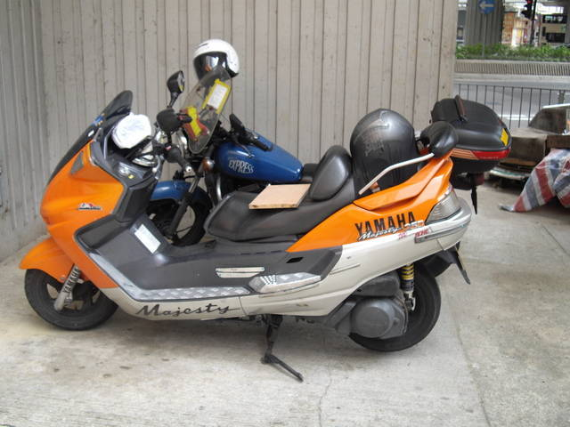 Hong kong ads for vehicles motorcycles free for Yamaha majesty 400 for sale near me