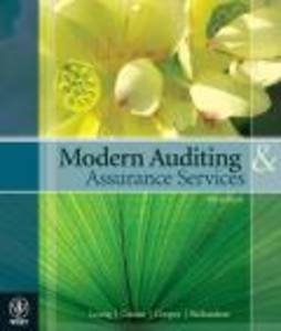 auditing and assurance services in australia pdf