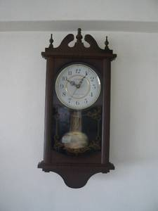 Clearance sale wall mount grandfather 39 s clock for sale singapore region singapore free - Wall mounted grandfather clock ...