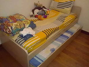 Best Pull Out Single Bed Frame With Mattress Kid Child Children Singapore Region Free Clifieds Muamat