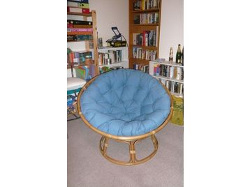 Big Comfy Round Chair Papasan From 39 The Pier 39 Uk Free