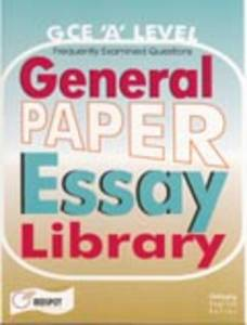 a level general paper model essays Home jc general paper 2016 8807 9740 9758 9759 a'levels a-level a-levels answers complex numbers definite integral differentiation essay essay analysis essay.