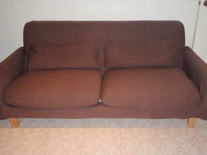 Ikea nikkala sofa x 2 with 3 interchangeable covers for Ikea sofa legs interchangeable