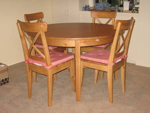 IKEA Leksvik Extendable Dining Table And Chairs Perth