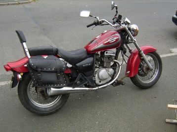 00 suzuki 125 chopper for sale carlow ireland free. Black Bedroom Furniture Sets. Home Design Ideas
