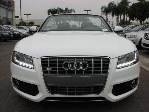 2011 Audi S5 Coupe Ibis White