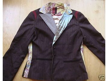 St Martins Scandinavian Design | Designer St Martins Grey Scandinavian Design Jacket In Xl Size 14