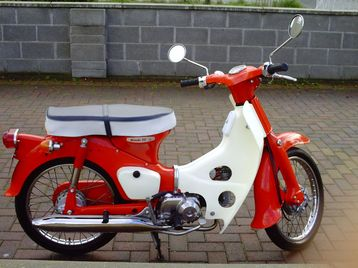honda c50 fully restorded Best Offer Gets Bike Today For Sale - Dublin ...