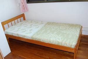 Singapore Picture Framing on Bed Frame   Seahorse Mattress For Sale   Singapore Region  Singapore