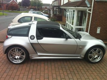 2005 smart roadster coupe brabus a for sale dublin. Black Bedroom Furniture Sets. Home Design Ideas