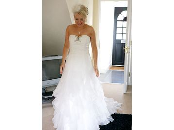 Nicole jackson earleen wedding dress size 10 12 for Wedding dress cleaning birmingham