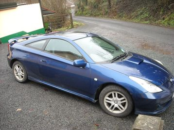for sale toyota celica 2001 ireland free classifieds. Black Bedroom Furniture Sets. Home Design Ideas