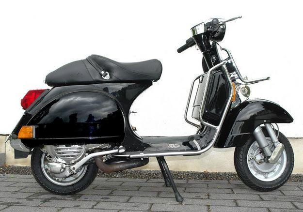 vespa p 200 e px 200 schwarz traumzustand recklinghausen germany free classifieds muamat. Black Bedroom Furniture Sets. Home Design Ideas