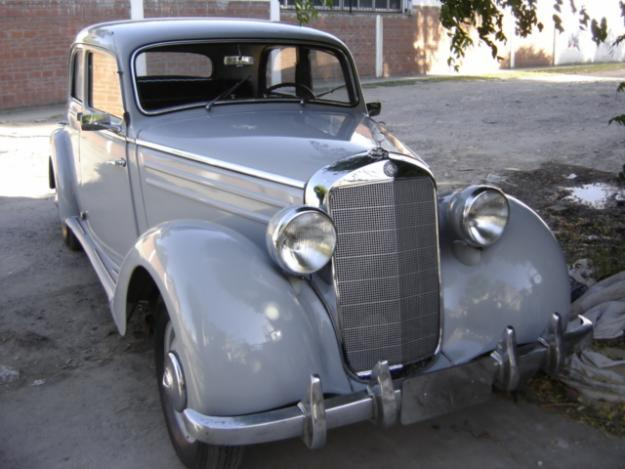 Vendo mercedes benz 170 sd modelo 1954 for sale for Mercedes benz 170 ds for sale