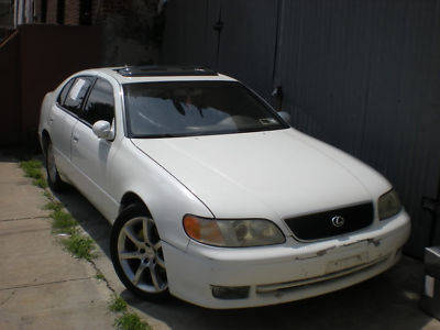 1993 white lexus gs300 for sale los angeles usa free. Black Bedroom Furniture Sets. Home Design Ideas