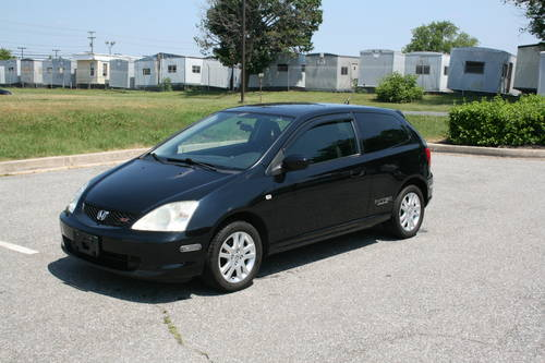 2002 honda civic si v tech 143k black 2 door hatchback. Black Bedroom Furniture Sets. Home Design Ideas