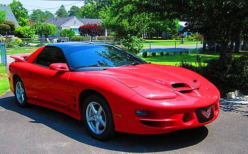 2001 pontiac firebird trans am ram air v8 cherry red for sale atlanta usa free classifieds. Black Bedroom Furniture Sets. Home Design Ideas