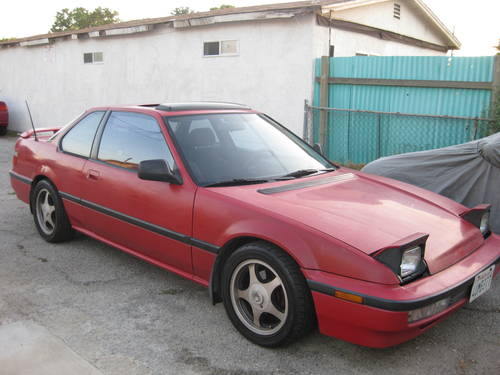 1991 Honda Prelude Si 2.1L  Red  5 Speed For Sale   Los Angeles, USA   Free  Classifieds   Muamat