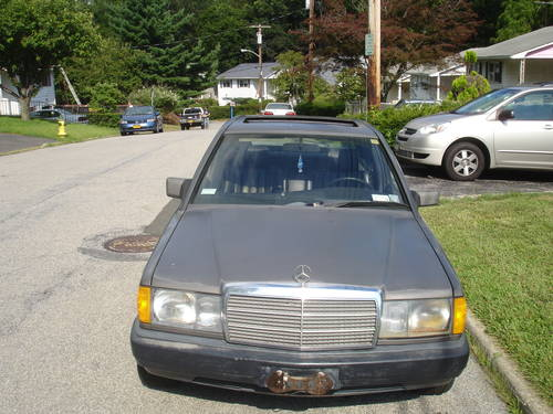 1986 mercedes benz 190d 2 5 na 5 speed euro for sale for Mercedes benz 190d for sale