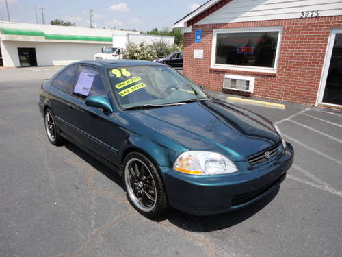 1996 honda civic ex coupe green for sale fort worth usa free classifieds muamat. Black Bedroom Furniture Sets. Home Design Ideas