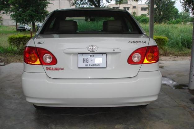 Used Car Frauds >> Toyota Corolla XLI 2005(Oct) for sale - Lahore, Pakistan ...