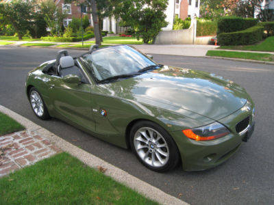 2003 Bmw Z4 Convertible Rare Urban Green Sport Package For