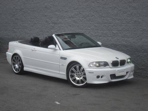 2005 bmw m3 convertible smg alpine white black navi 19 wheels cheap for sale los angeles usa. Black Bedroom Furniture Sets. Home Design Ideas