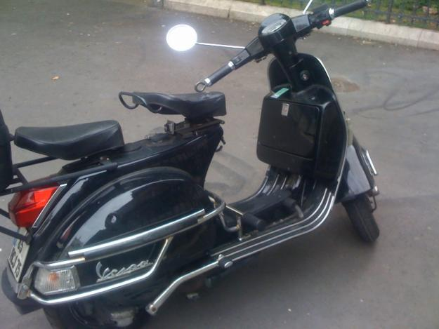 vends vespa px 125 noir double selle paris france free classifieds muamat