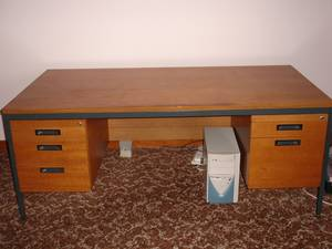 Desk with Drawers For Sale Desk with Drawers on both sides. Keys