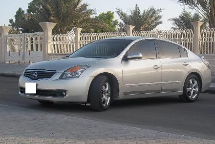 nissan altima 2008 silver color for sale dubai uae. Black Bedroom Furniture Sets. Home Design Ideas