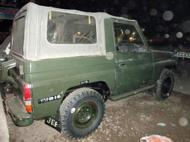 Army auction JEEP FOR SALE - Lahore, Pakistan - Free ...