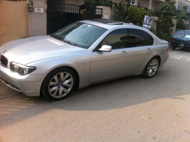bmw 730d 2003 se silver color for sale islamabad pakistan free classifieds muamat. Black Bedroom Furniture Sets. Home Design Ideas