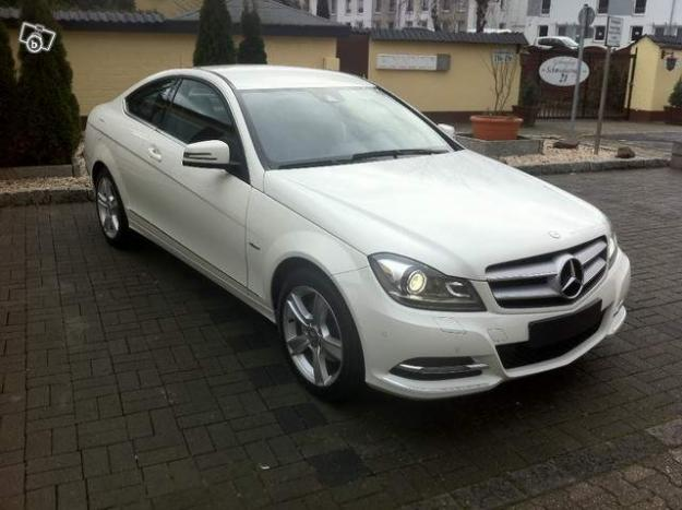 mercedes benz c 220 cdi dpf coupe for sale lille france. Black Bedroom Furniture Sets. Home Design Ideas