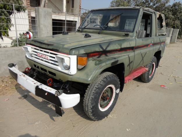 Army auction (RKR JEEP) for sale - Lahore, Pakistan - Free ...