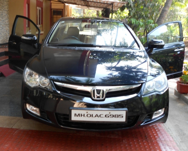 Honda Civic Models in India Honda Civic V-mt Top Model