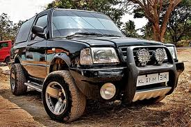 Tata Sierra looks like Monster Hummer - Allahabad, India ...