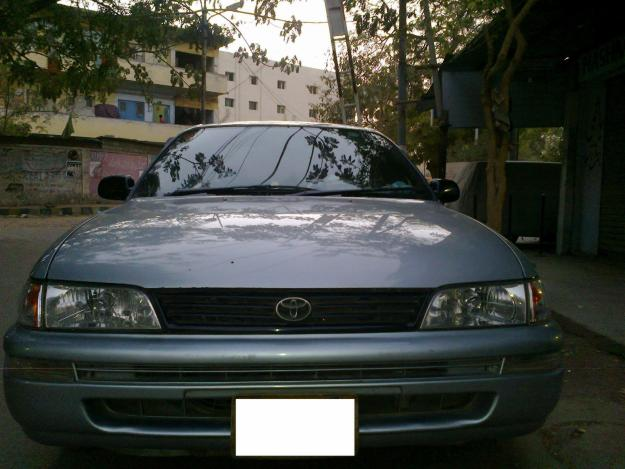 Byers Used Cars >> Toyota Corolla XE 2001 silver color for sale in Karachi ...
