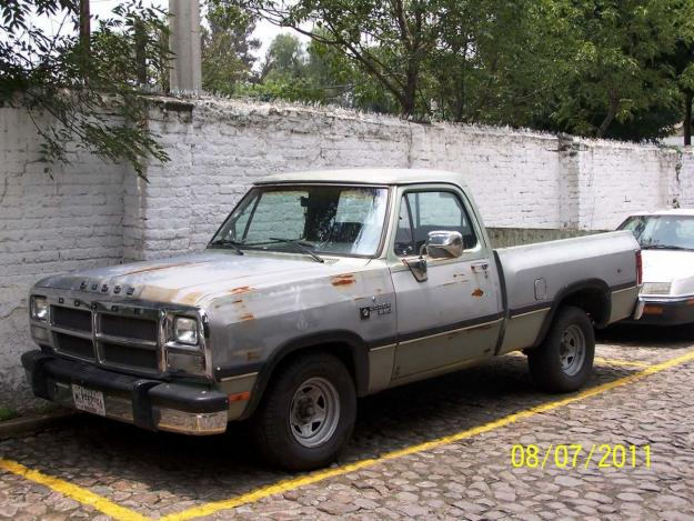 1990 dodge ram pick up d250 for sale   toluca mexico   free