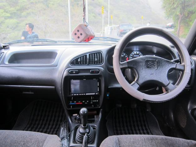 Baleno GTI Japanes 2001 blue color for sale in Islamabad  Karachi