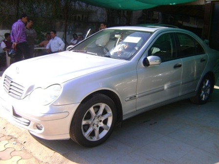 Used mercedes benz c class c 200 kompressor elegance at for Mercedes benz for sale in india