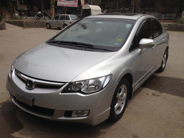 honda civic oriel manual model  silver color  sale  islamabad islamabad pakistan