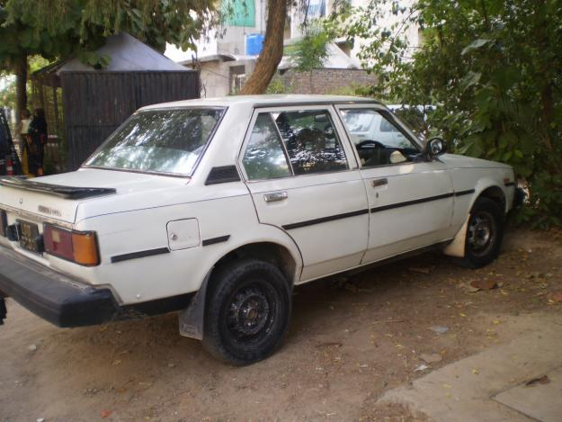 toyota corolla 1982 white color for sale in islamabad islamabad pakistan free classifieds. Black Bedroom Furniture Sets. Home Design Ideas